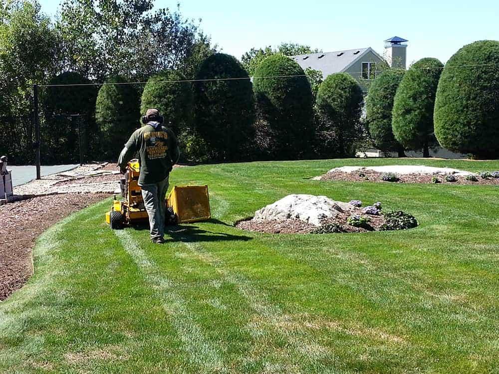 Landscape maintenance spring cleanups yard maintenance for Landscape maintenance